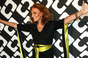 Diane Von Furstenberg's Journey of A Dress Exhibition Opening Celebration
